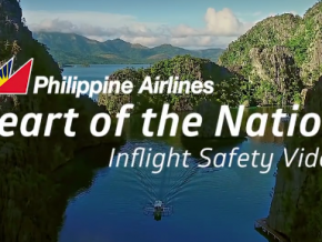 PAL's newest inflight safety video brings tourists around the Philippines