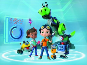 "Imaginations Run Wild in ""Rusty Rivets"" , Nickelodeon's Inventive New Preschool Series, Premiering in Asia in March"