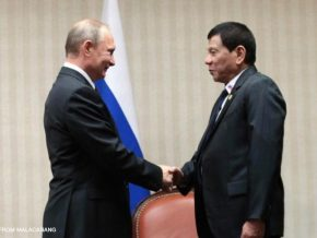 Duterte to visit Russia in May