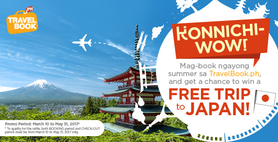 Konnichi-WOW: Win a Free Trip to Japan with TravelBook ph