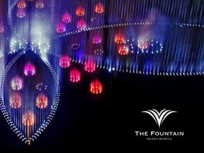 Okada Manila Unveils The Grand Fountain on March 31