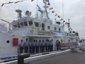 PHL Coast Guard names vessel from Japan 'BRP Malapascua'