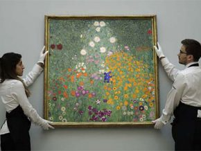 Klimt painting sells for $59M in bumper London auction week