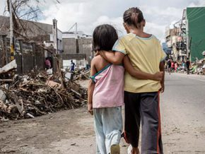 World's first law protecting children in disasters ready for implementation
