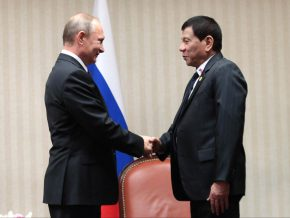 Duterte to fly to Russia on May 25
