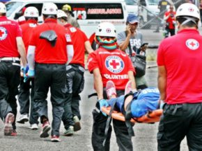 Philippine Red Cross prepares for the 'Big One' with shake drill