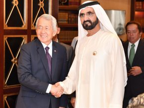 Yasay meets UAE Prime Minister Sheikh Mohammed