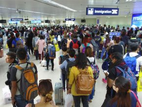 PAL advises passengers to come to airport earlier due to Immigration manpower shortage