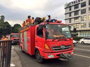 MMDA opens fire lane on EDSA