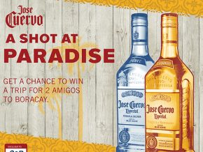 Party hard and enjoy a two-night stay for two in Boracay with Jose Cuervo!