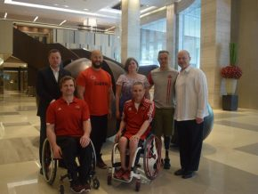 New World Makati Hotel partners with Embassy of Canada and Wheelchair Basketball Canada
