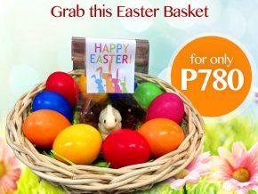 Grab Santis Delicatessen's Easter Egg Basket for only P780!