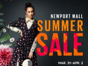 Get up to 70% discount at Newport Mall's Summer Sale