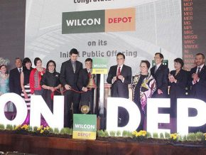 Wilcon Depot shares rise in stock market debut