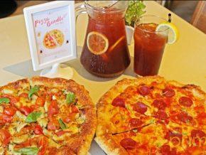 Pizza bundles and discounted cakes at Stella Bistro and Rocket Room at SM Aura