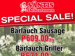 Santis Delicatessen Wine and Sausage Sale this April!