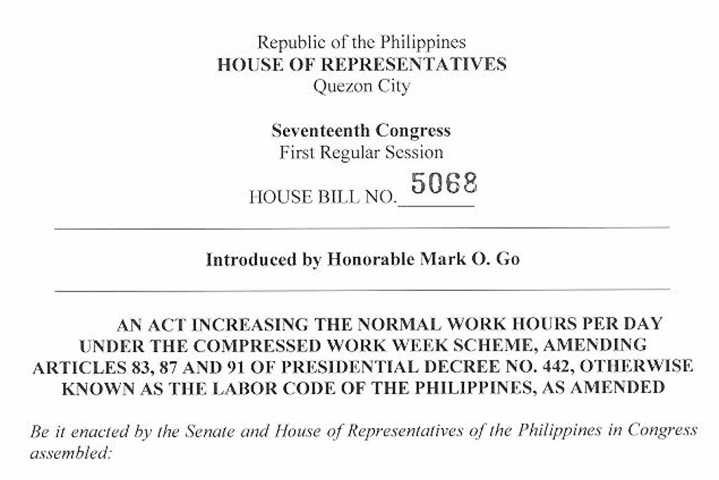 First Step Taken Towards Four Day Work Week In Ph Philippine Primer
