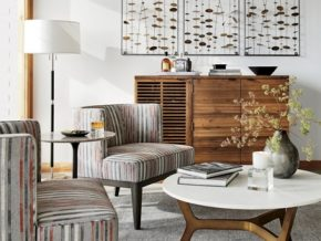 Inviting the Indoors In with Crate and Barrel's Spring Summer Collection 2017