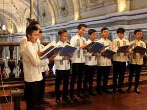 Newly Restored San Agustin Choir Loft Inaugurated