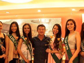 Yoshinoya invites Ms. Philippines-Earth candidates at SM North EDSA branch
