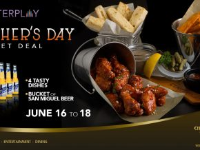 Father's Day Bucket Deal at City of Dreams Manila