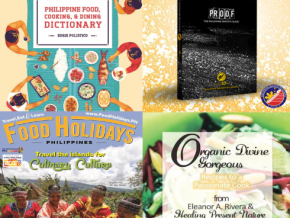 PH culinary books tagged 'Best in the World' at the Gourmand World Cookbook Awards