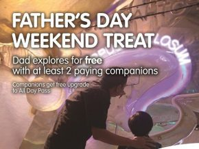 Father's Day Treat at The Mind Museum in BGC