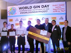 #WorldGinDayPH2017: New flavors, new tastes, and a heightened appreciation for gin