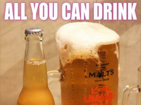 Kenshin Japanese Restaurant in Makati offers all-you-can drink promo