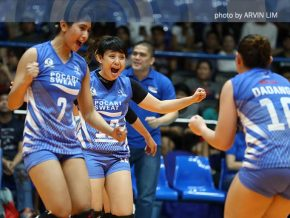 Pocari Sweat Lady Warriors wins at Premier Volleyball League 2017