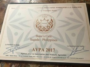 Bana's Coffee from Sagada Wins International Award