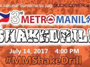 Metro-wide earthquake drill happening on July 14