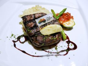Carpaccio Ristorante in Makati features Grass Fed Beef on the Menu