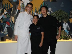 Tokyo's Florilege chef Hiroyasu Kawate and PH's Chef Margarita Fores partner for an exclusive dinner at Mireio