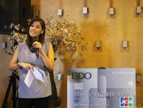 BDO and JCB launch Platinum Credit Card