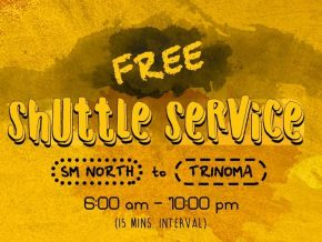 P2P announces free shuttle service for SM North to Trinoma