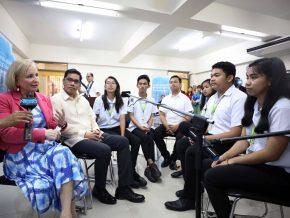 Makati High School selected as first BRIDGE School in PH