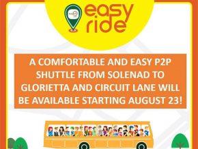 P2P bus service launches Makati-Nuvali route