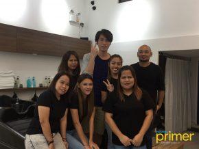 A Sneak Peak at Nora Hair Salon in Makati
