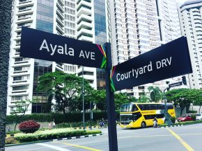 New way-finding system, now installed in Makati streets