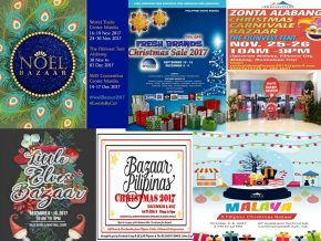 Christmas Bazaars to Watch Out For This 2017