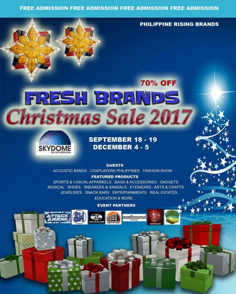 Fresh Christmas Tree Philippines.Christmas Bazaars To Watch Out For This 2017 Philippine Primer