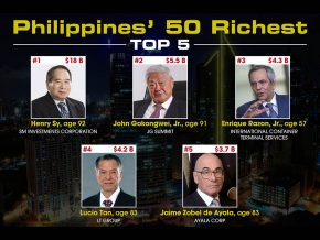 Forbes Released the Philippines' 50 Richest 2017