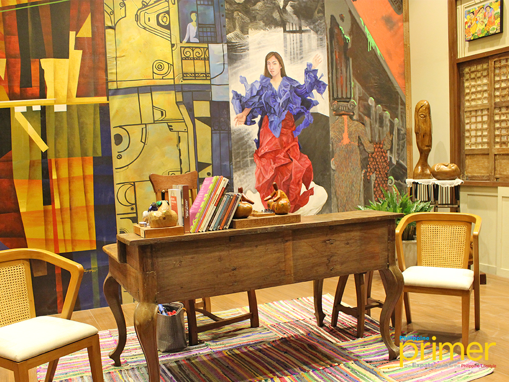 Mary Ann Bulanadi Den Study Room Booth No 15 Inspired From Bahay Nakpil Bautista