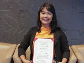 Filipina Filmwriter Won the Highest Award at a Women's Film Festival in Japan