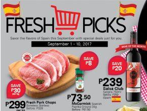 Fresh Picks Promo by Rustan's Supermarket