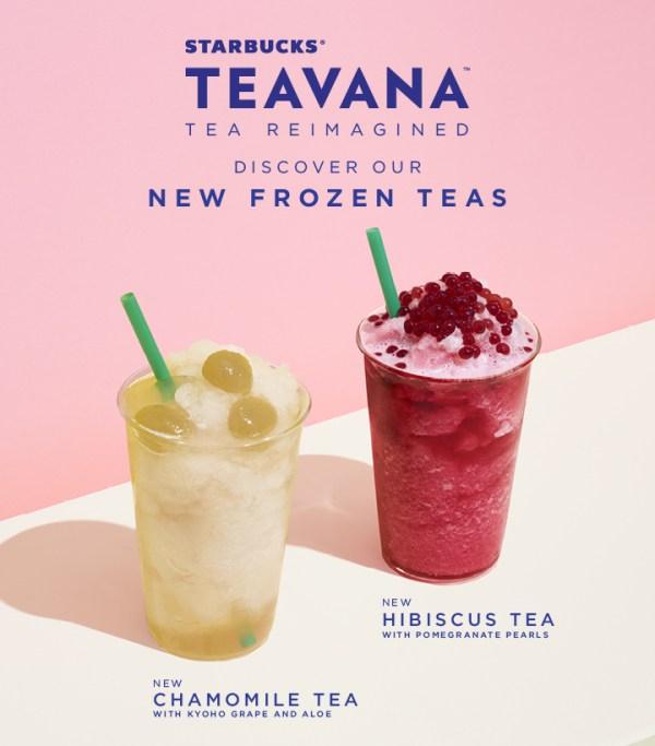 Starbucks Frozen Drinks