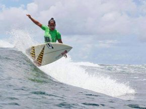 LU Surfer Daisy Nerisa Valdez wins in Japan