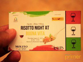 Food, wine, and German beer: Risotto Night at Buona Vita