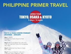 Explore Tokyo, Osaka, and Kyoto with Philippine Primer Travel